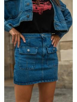 Spódnica BOHO Dark Jeans