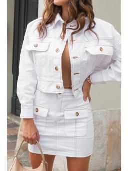 Komplet BOHO White Jeans
