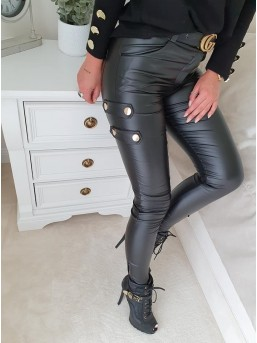 Spodnie Patki Czarne