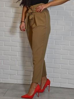 Spodnie Elegant brąz