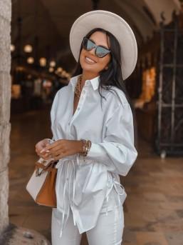 Koszula ZARA biała - zdjęcie 2