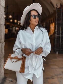 Koszula ZARA biała - zdjęcie 4