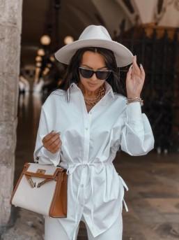Koszula ZARA biała - zdjęcie 5