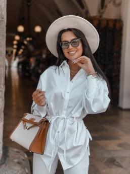 Koszula ZARA biała - zdjęcie 6