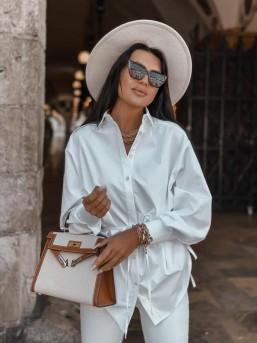 Koszula ZARA biała - zdjęcie 11