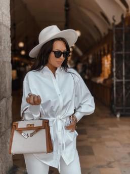 Koszula ZARA biała - zdjęcie 15