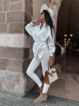 Koszula ZARA biała - zdjęcie 16