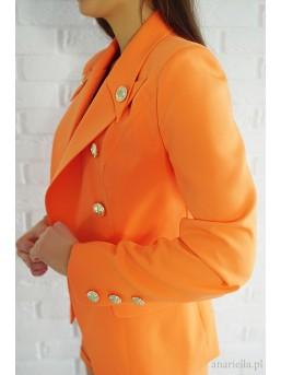 Marynarka Elena Orange - zdjęcie 2